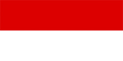 Флаг Индонезия