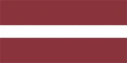 Флаг Латвия