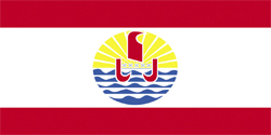 Флаг Французская Полинезия