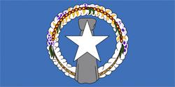 Флаг Северные Марианские острова